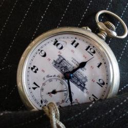 Montre gousset homme Chronomètre Alexandre