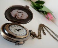 médaillon photo -montre à quartz, Medaillon photo montre, montre Perles du temps, Médaillon victorien, Médaillon personnalise de perles du temps, montre pendentif