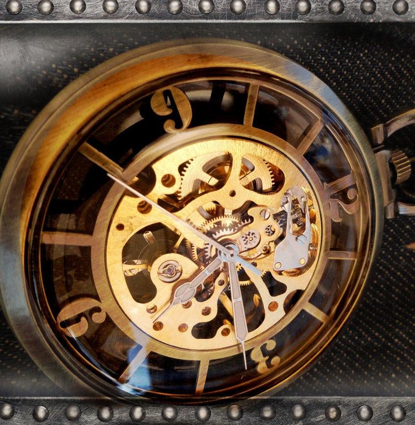 perles du temps- montre gousset homme