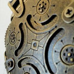 Clé USB steampunk - Crypetex - perles du temps