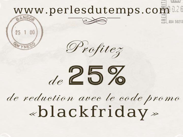 Découvrez le Black Friday chez Perlesdutemps.com
