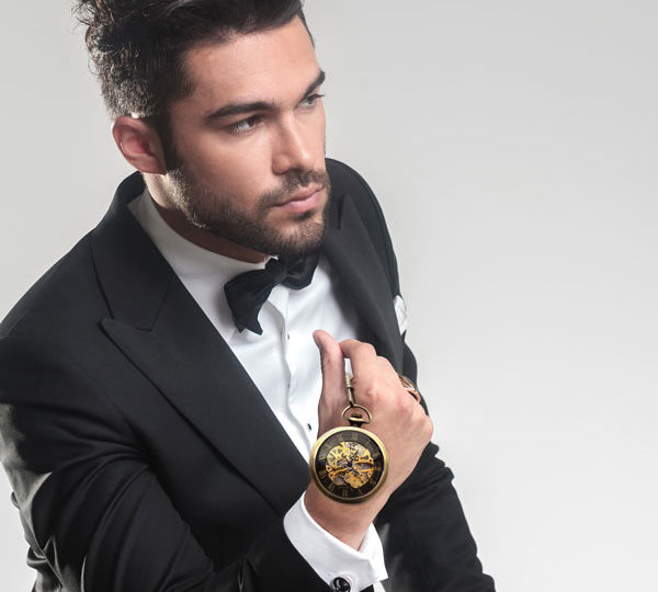 Pour votre homme – une belle montre de poche de qualité