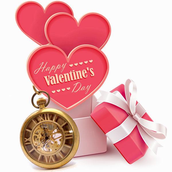 cadeau de Saint Valentin, montre squelette steampunk