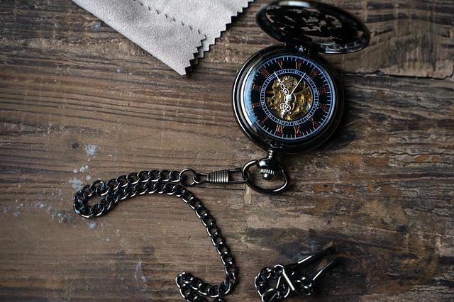 La montre à gousset avec la boutique perles du temps.com