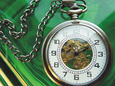 Collection de montres de poche mécaniques