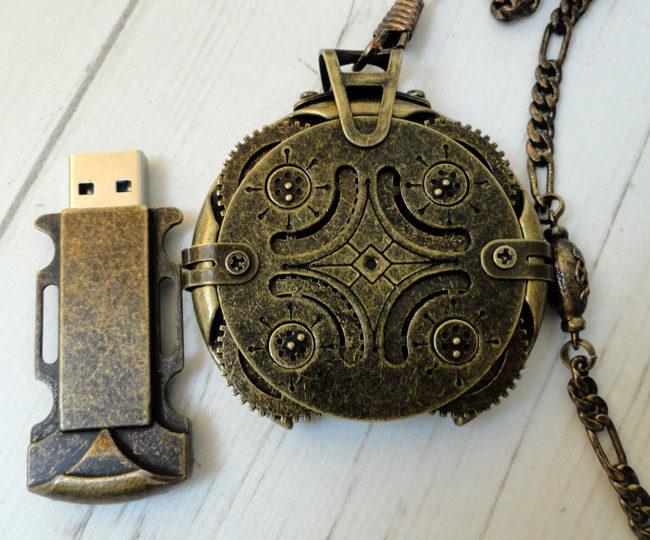 Clef USB Crypetex : L'anti-vol qui a de la classe !