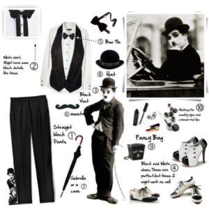 comment on peut créer notre style dans l'esprit cinéma des années 20's et de Charlie Chaplin